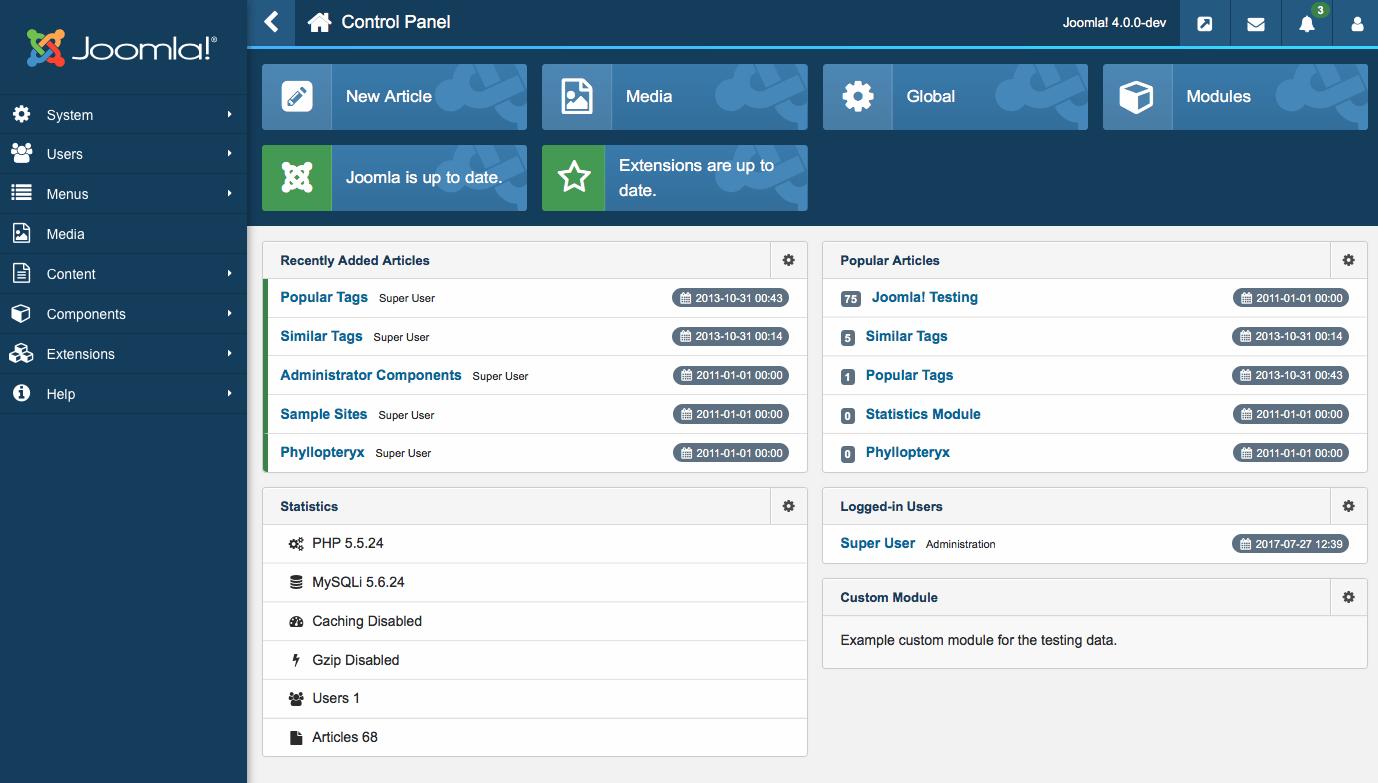 ¿Como crear un artículo en Joomla?