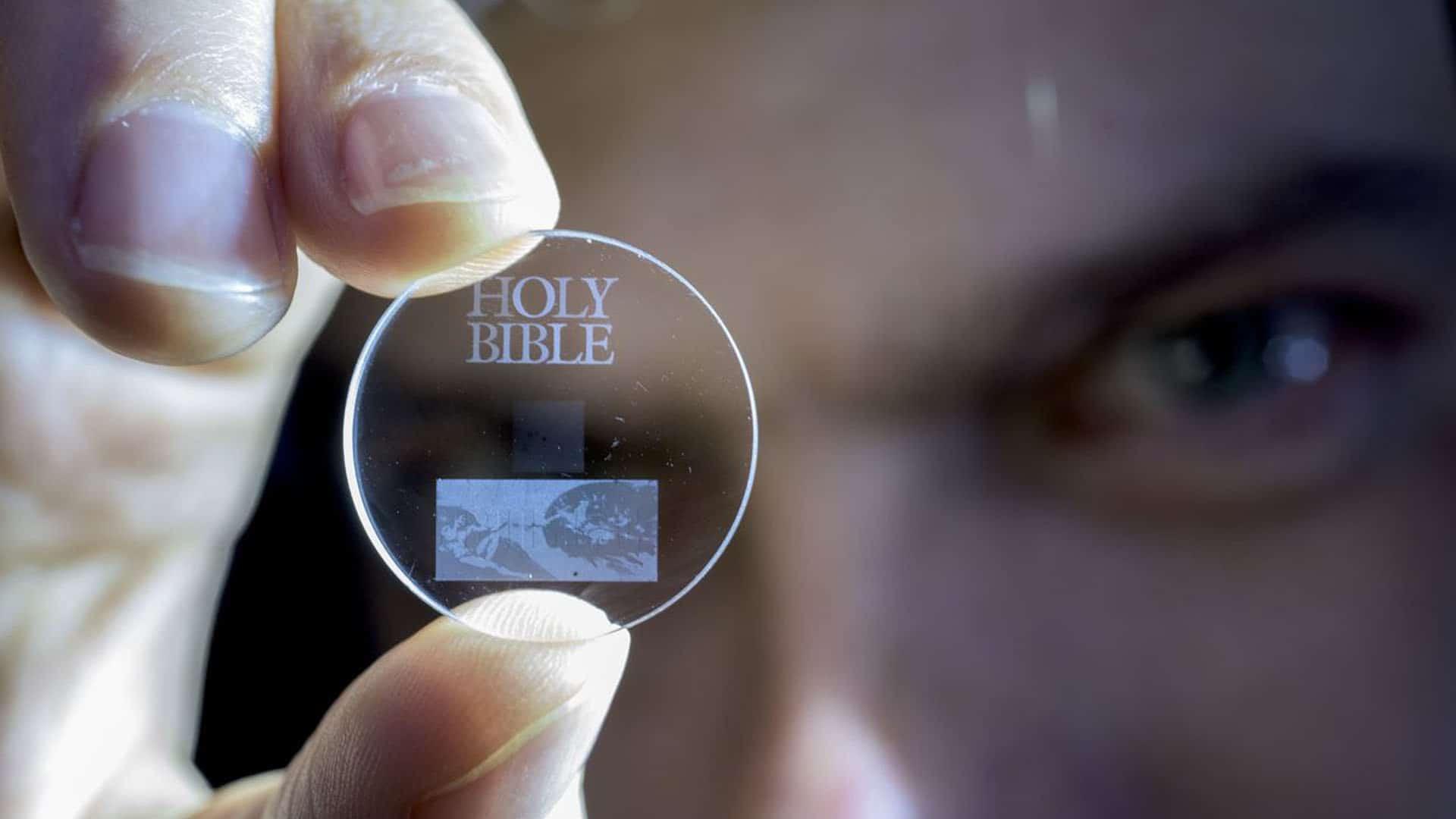 Cristales de 'Superman' pueden almacenar datos durante miles de millones de años